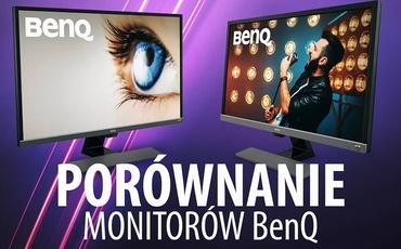 BenQ EW3270U i EL2870U - Test i Porównanie monitorów BenQ