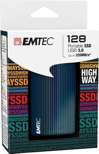 EMTEC Dysk SSD 128GB 1,8 zewn. +etui 220/140 mb/s