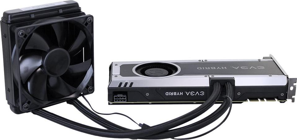 EVGA GeForce GTX1070 Hybrid Gaming 8GB GDDR5 (256 Bit) DVI-D, HDMI,
