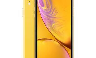 Apple iPhone Xr 256GB (żółty)