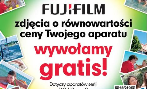 Kup aparat Fujifilm i odbierz bezpłatne odbitki