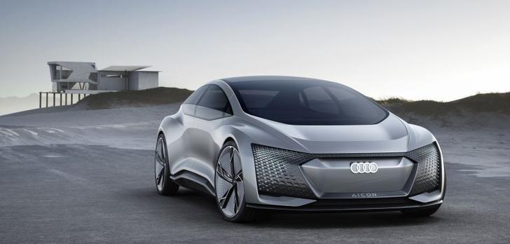 Przedpremierowy pokaz autonomicznego pojazdu Audi Aicon