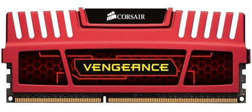 Corsair DDR3 VENGEANCE 8GB/1600 (2*4GB) CL9-9-9-24 RED