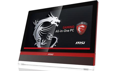 Plextor w gamingowym All-in-One MSI