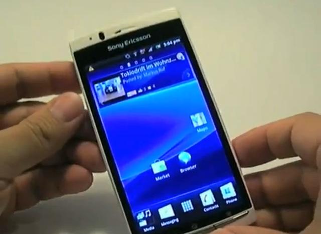 Sony Ericsson Xperia arc S - test telefonu