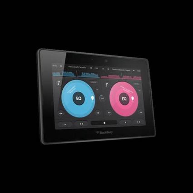 Aplikacja Pacemaker dla DJ-ów na BlackBerry PlayBook