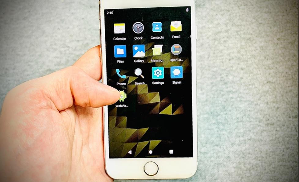 Android na telefonach iPhone dzięki Project Sandcastle