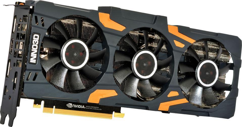 Inno3D GeForce RTX 2080 X3 OC 8GB GDDR6 (256 Bit), HDMI, 3xDP, USB-C,
