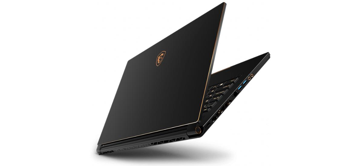 MSI GS65 Stealth - klapa matrycy