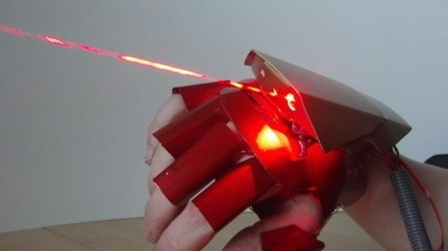 Niesamowity Gadżet - Laserowa Rękawica
