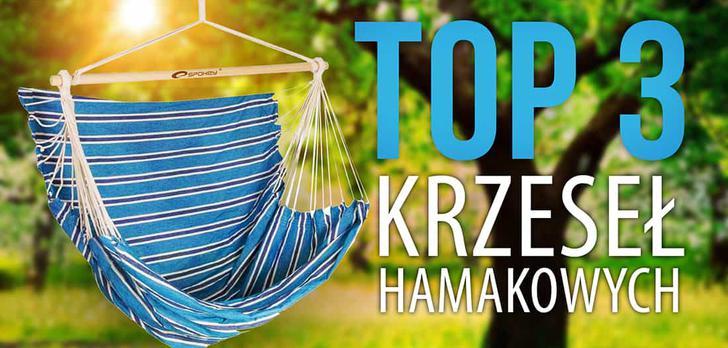 Ranking TOP 3 Krzeseł Hamakowych - Wygodne meble ogrodowe