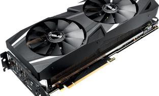 Asus Dual GeForce RTX 2070 OC edition 8GB GDDR6 (256 Bit), HDMI,
