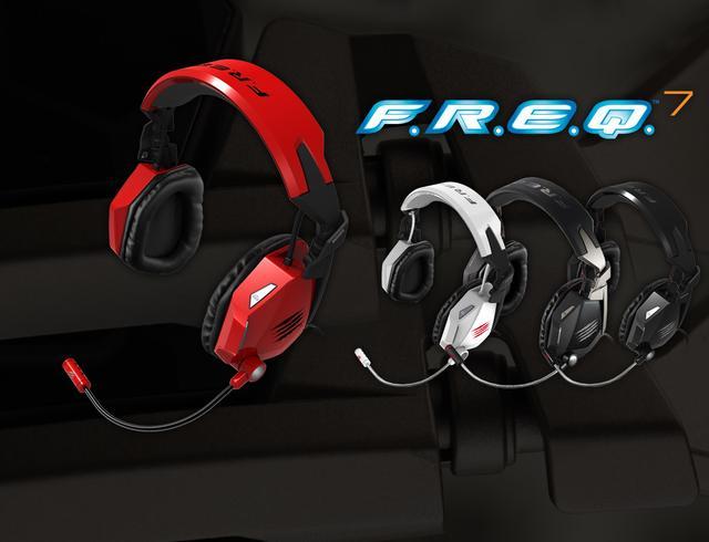 Mad Catz F.R.E.Q. 7 - gamingowe słuchawki dla wymagających