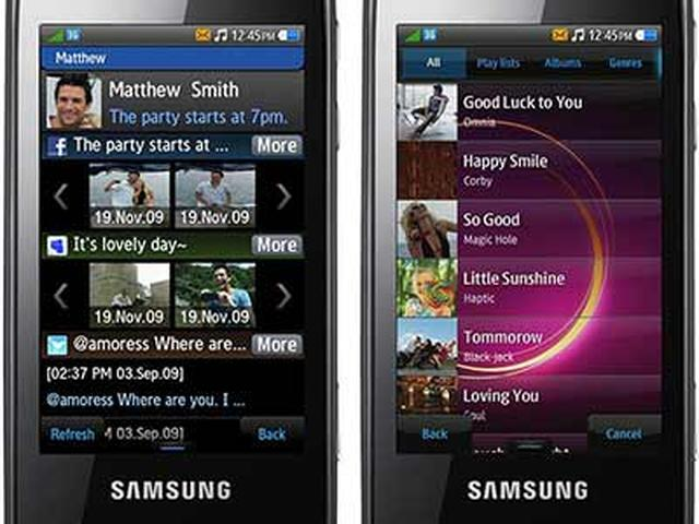 Samsung bada – pierwsze zrzuty ekranowe nowego systemu