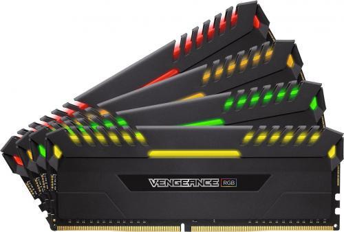 Corsair Vengeance RGB DDR4, 4x16GB, 3000MHz, CL16 (CMR64GX4M4D3000C16)