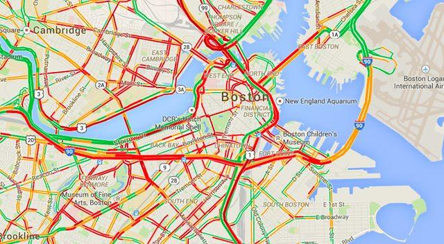 Google Maps Korki
