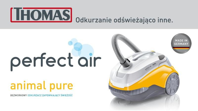 Thomas Perfect Air Animal Pure posprząta sierść