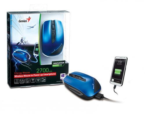 Genius Energy Mouse power bank 2 700mAh blue