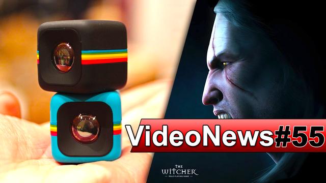 VideoNews #55 - Kamerka w kształcie sześcianu, LG G4, Wojna z ZAiKS i The Witcher Battle Arena