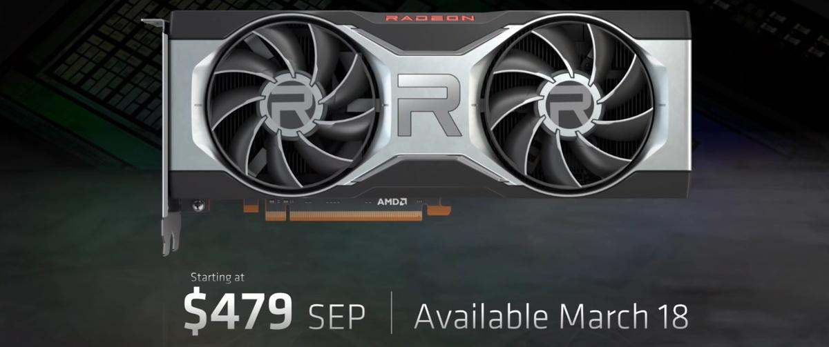 Cena AMD RX 6700 XT wydaje się być atrakcyjna (źródło: AMD)