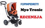 Wózek dziecięcy z napędem elektrycznym, jedyny taki na świecie – Foppapedretti Myo Tronic
