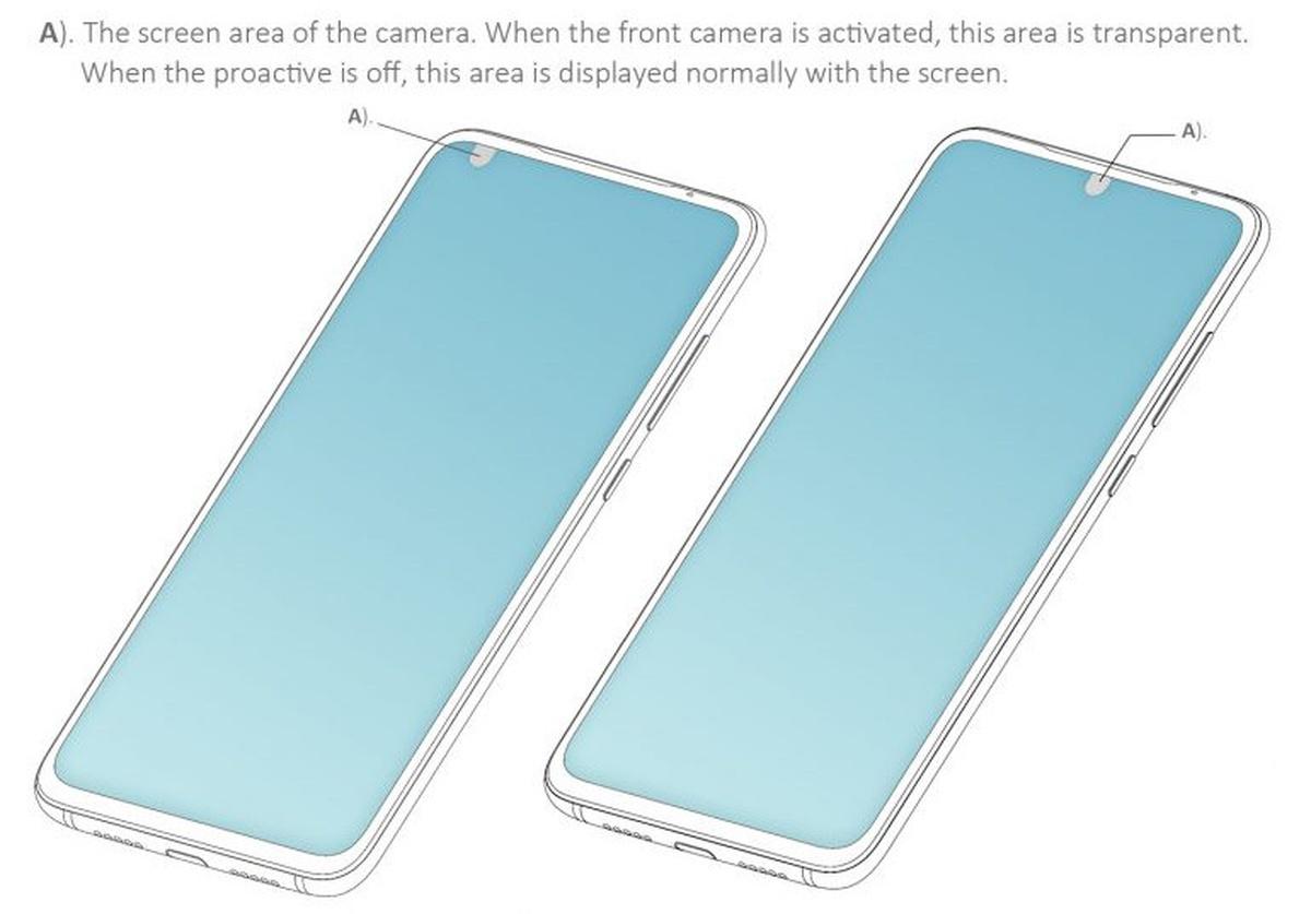 Ilustracja patentowa Xiaomi