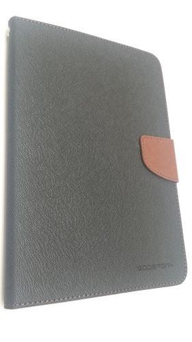 """WEL.COM Etui Fancy do Samsung Galaxy Tab Pro 8.4"""" czarno-brązowe"""