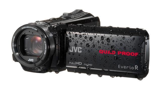 Wodoodporna kamera JVC GZ-R435 z dużym zoomem