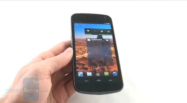 Samsung Galaxy Nexus - prezentacja telefonu