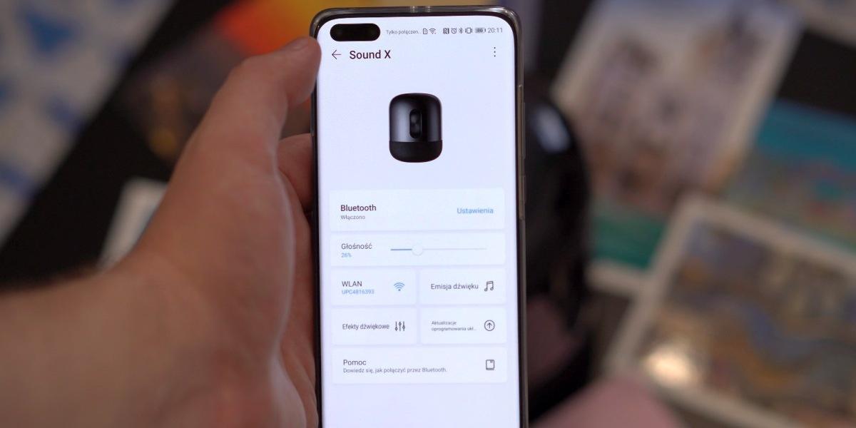 Huawei Sound X współgra z AI Life