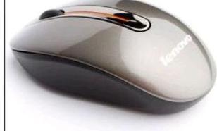 LENOVO bezprzewodowa optyczna N3903 1200dpi biała