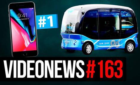 Autonomiczne e-busy, Elon Musk pomaga, iPhone znów na szczycie - VideoNews #163