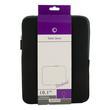 4World Piankowe Wertykalne Etui | tablet | 270x220x20mm | 10.1'' | czarno-szare