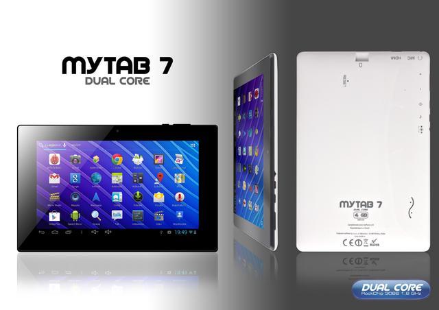Szybki myTAB 7 DualCore trafia do sprzedaży