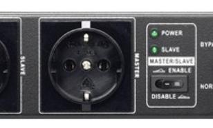 Lestar MBS101 BYPASS ZEWNETRZNY 4XSCH 19 PDU RACK
