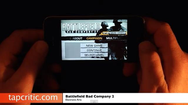 Battlefield Bad Company 2 dla iPhone i iPod Touch