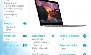 Apple MacBook Pro 13.3/2.6GHz i5/8GB/256Flash/MGX82PL