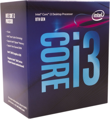 Intel Core i3-8100, 3.60GHz, 6MB, BOX (BX80684I38100)