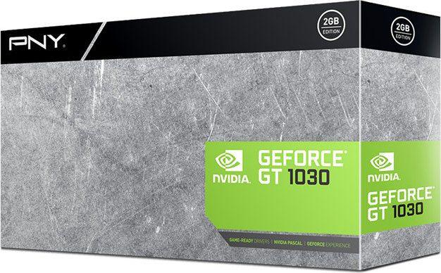 PNY Technologies GT 1030 2GB GDDR5, 64-bit (GF1030GTLF2GEPB)