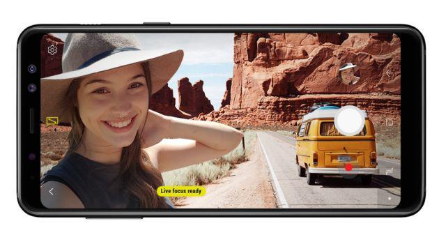 Specyfikacja Samsung Galaxy A8 (2018)
