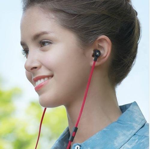Cresyn C450s Słuchawki do Smartphona (mic+pilot) czerwone