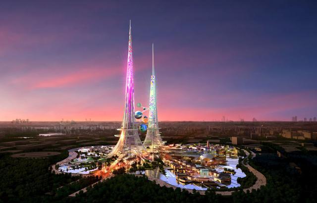Phoenix Towers - powstał projekt na najwyższy budynek świata