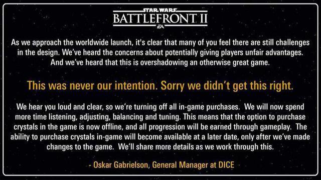 Przeprosiny EA DICE