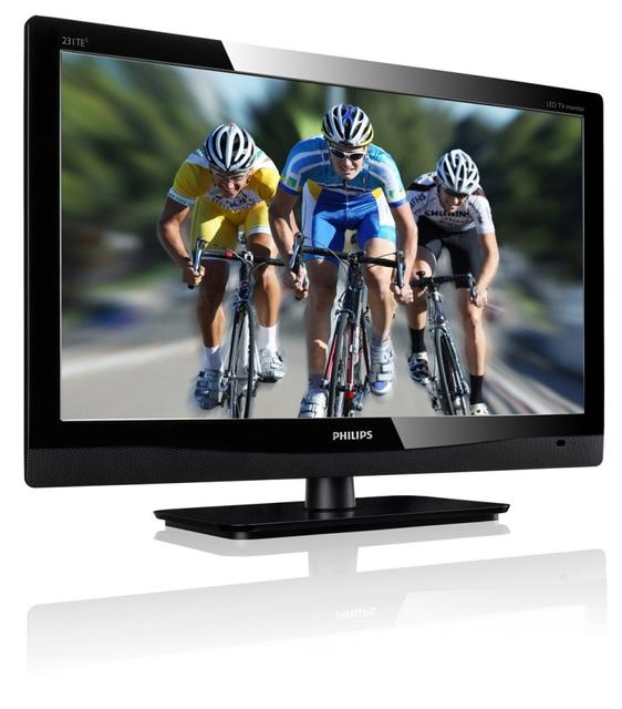 Pracuj, graj i oglądaj telewizję na nowych monitorach marki PHILIPS - Modele 221TE4LB i 231TE4LB