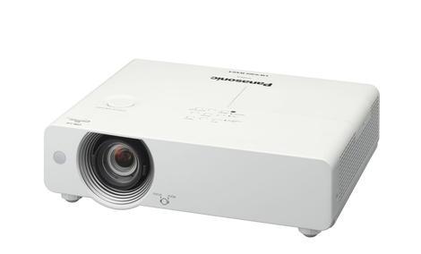 Panasonic PT-VW431DE – kompaktowy projektor cyfrowy LCD obsługiwany za pomocą pojedynczego kabla LAN