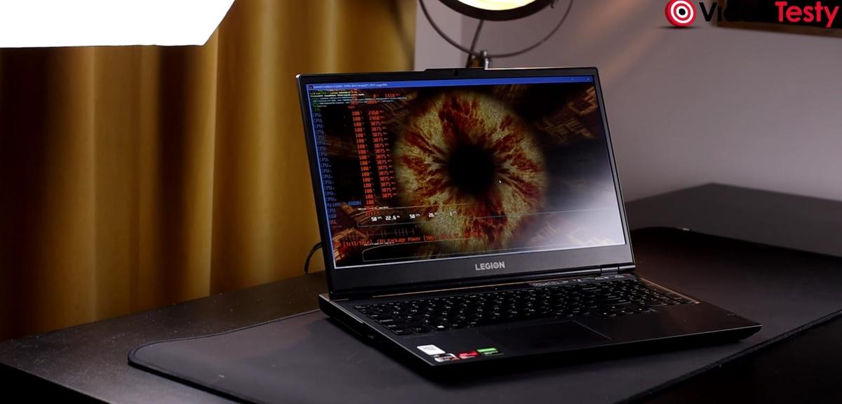 Laptop Lenovo Legion 5 to jedna z tańszych propozycji z dużą wydajnością