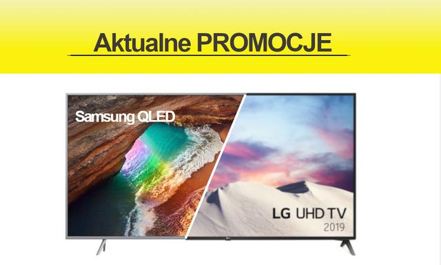 """Promocje na telewizory Samsung i LG z ekranami 55"""" i 70 cali"""