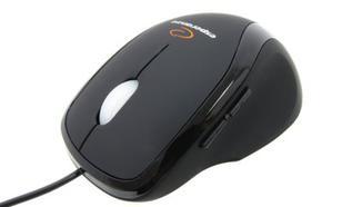 Esperanza , Przewodowa, Optyczna 800 DPI, USB, 5D - 5 Przycisków, Gumowana, Świecąca Rolka - EM111