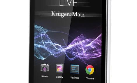 Kruger&Matz debiutuje na rynku smartfonów