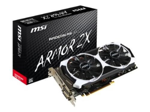 MSI AMD Radeon R9 380 2048MB OC